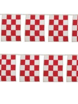 Vlaggenlijn Brabant rood wit de luxe katoen