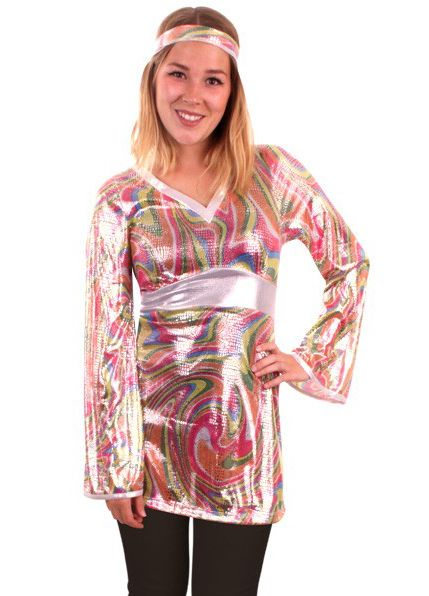 Disco Funky damesblouse