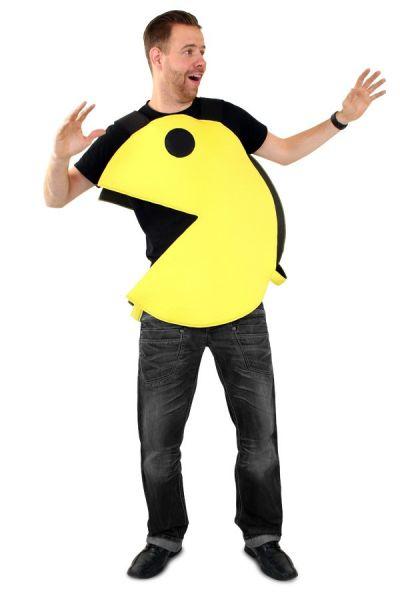 Emoticon Pacman happertje kostuum Imoji