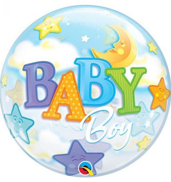 Bubble ballon Baby Boy