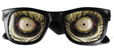 Glasses Zombie Horror