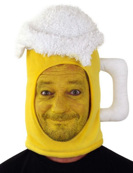 Grappig Bier hoofd