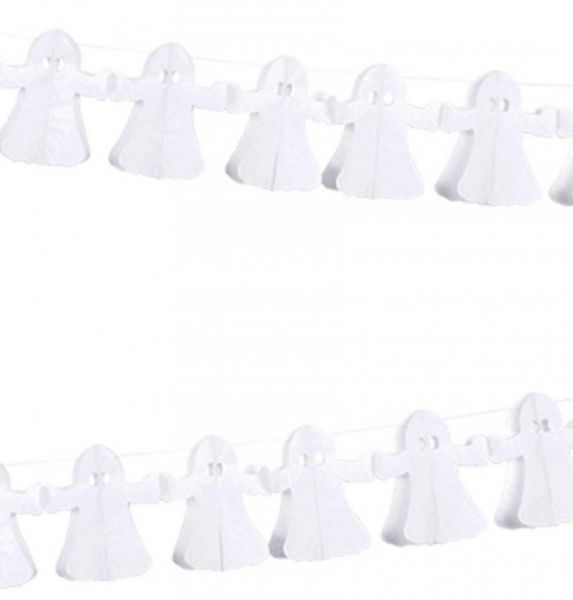 Slinger met 12 spookjes van stof