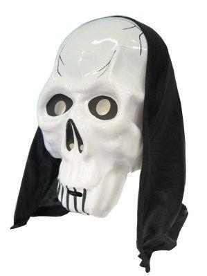 Masker Dood met hoofddoek