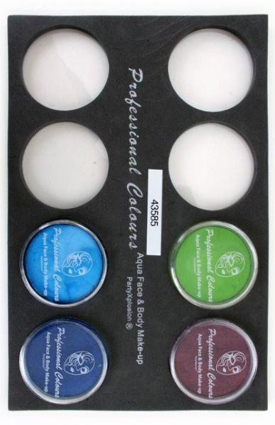 Face Paint case Trayfor 30 gram pots greasepaint