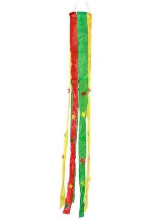 Windsock rood geel groen