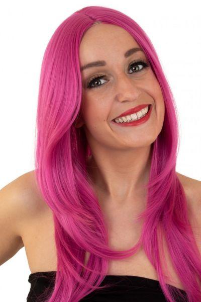 Damespruik pink wasbaar