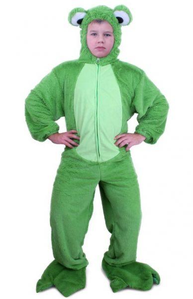 Groene kikker kostuum pluche kind