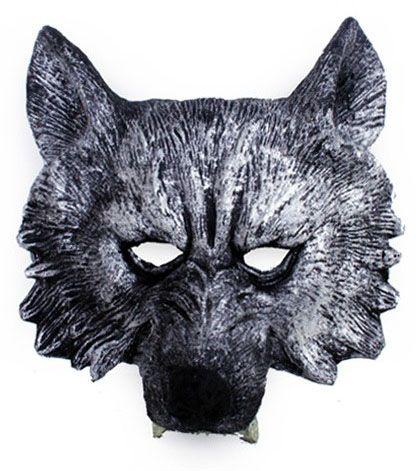 Half masker boze wolf