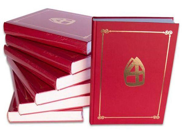 Sinterklaas boek met 350 pagina