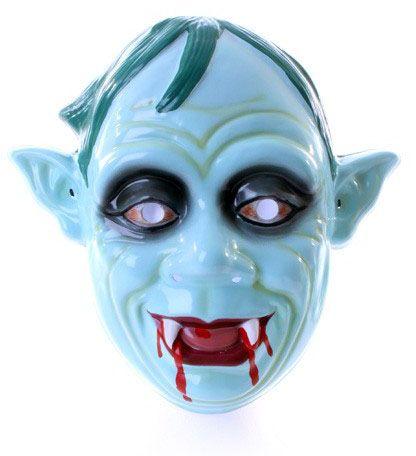 Zombie masker met bloederige tanden spitse oren