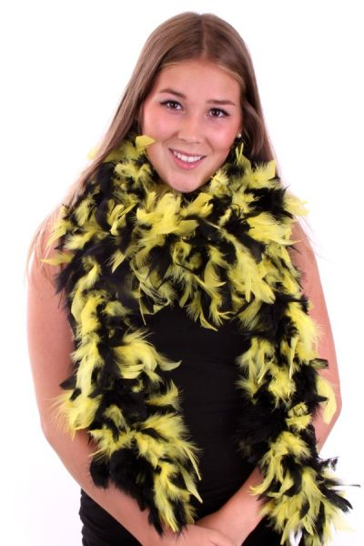 Boa geel - zwart Brandveilig