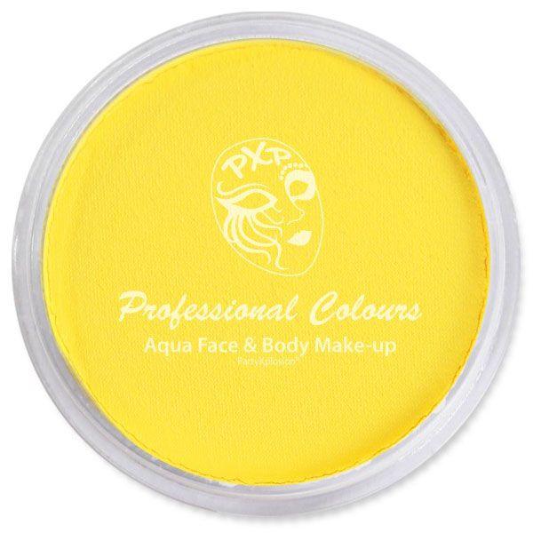 PartyXplosion Aqua schmink zonnebloem geel