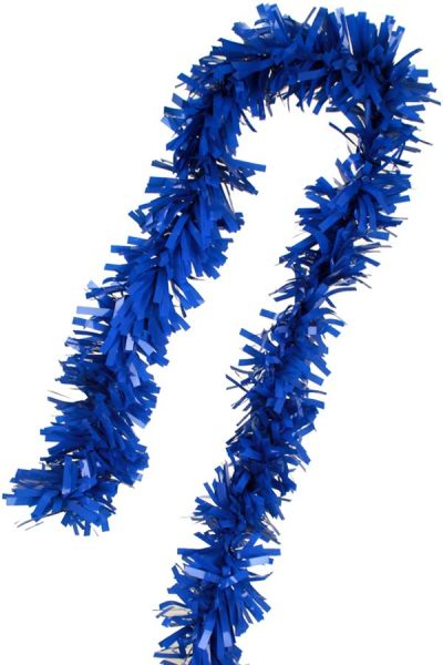 Blauwe Guirlande Folie gedraaid