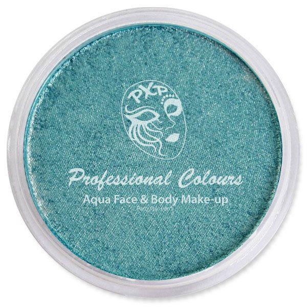 PartyXplosion Aqua schmink Pearl zee blauw