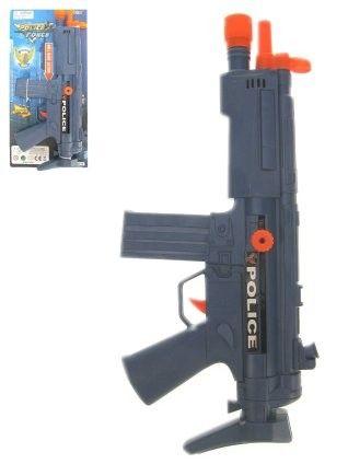 Politie machinegeweer