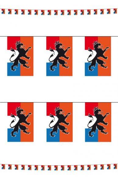 6x Vlaggenlijn Nederlandse leeuw Holland 10m