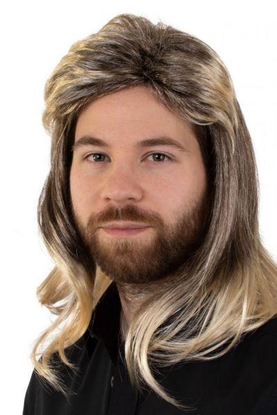 Herenpruik Johny blond gemeleerd