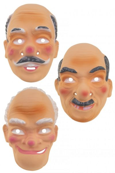 Diverse opa maskers