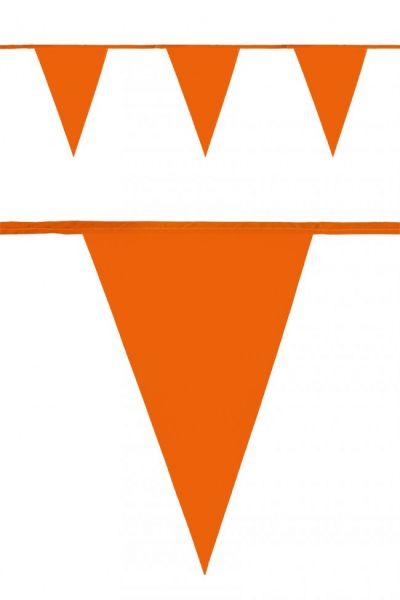 Vlaggenlijn oranje 120m EK WK voetbal