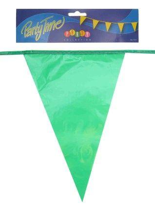 Vlaggenlijn groen 50m feestversiering