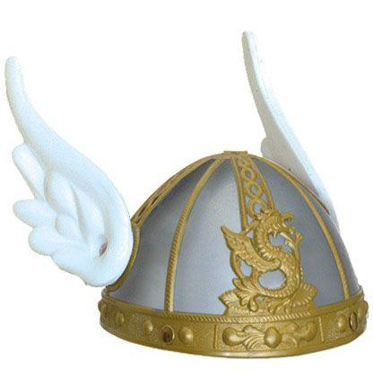 Asterix helm grijs