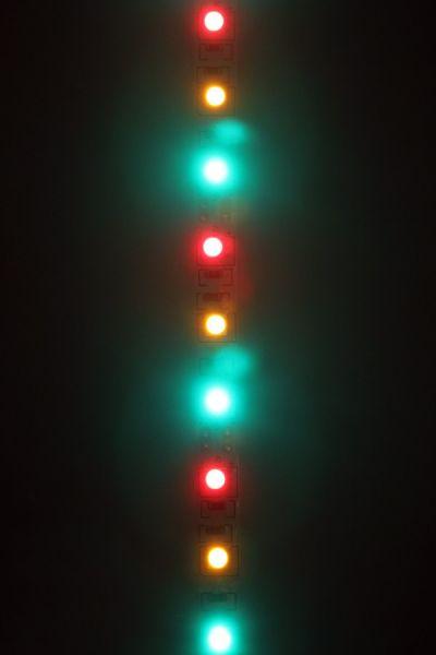 Carnaval Ledstrip rood geel groen 300 lampjes