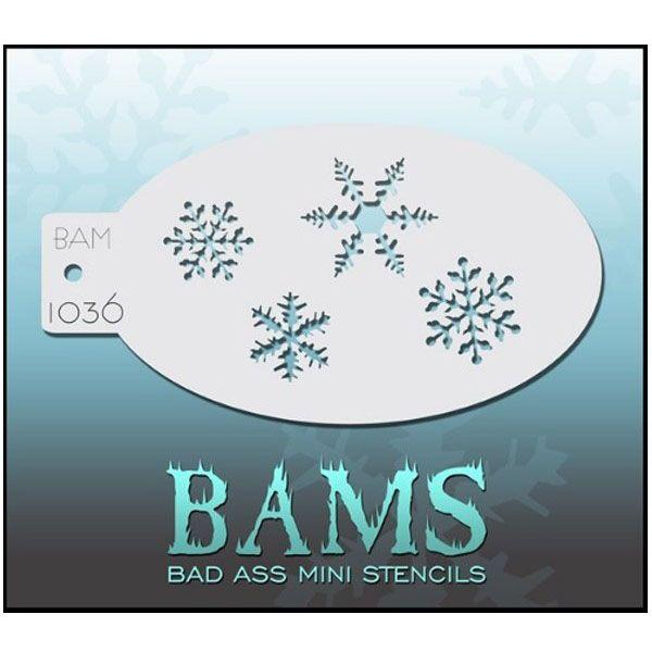 Bad Ass BAM schmink sjablonen 1036