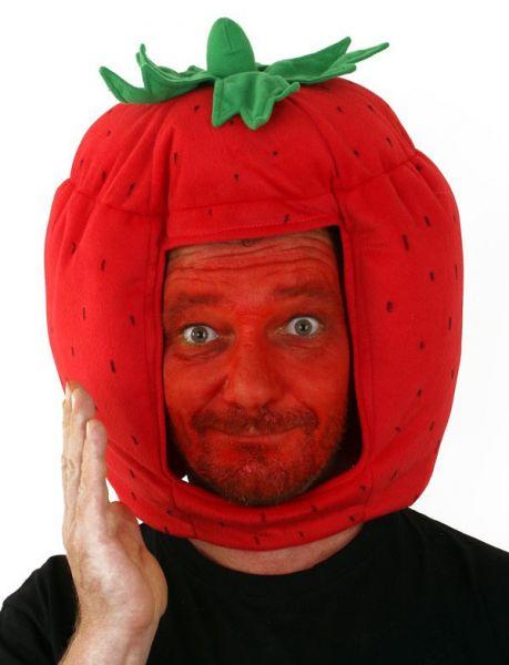 Grappig Aardbeien hoofd