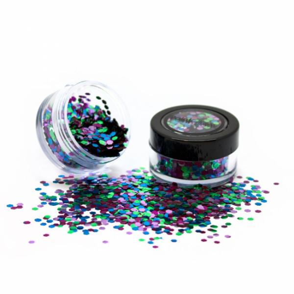 PaintGlow biologisch afbreekbare glittermixen Papegaai