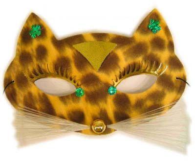 Oogmasker luipaard gevlekt