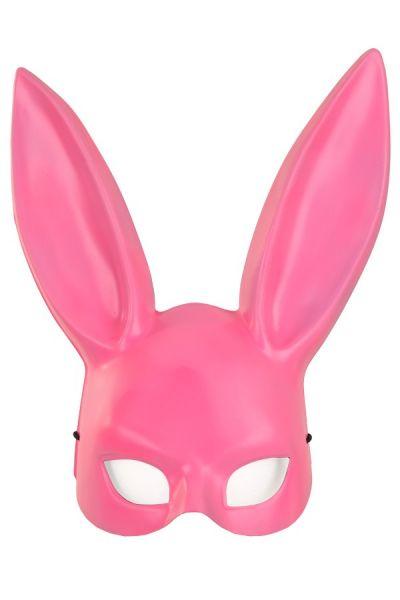 Half masker roze konijn