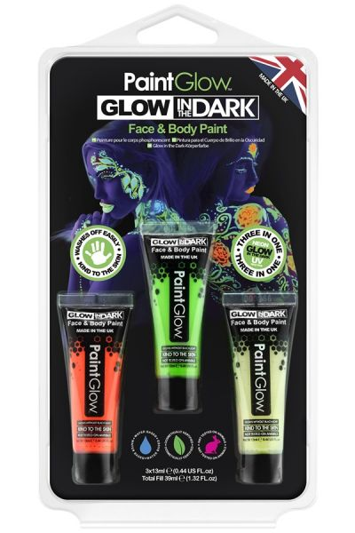 PaintGlow glow in the dark schmink
