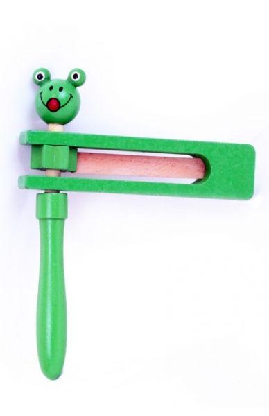 Ratelaar groen met kikkerkop