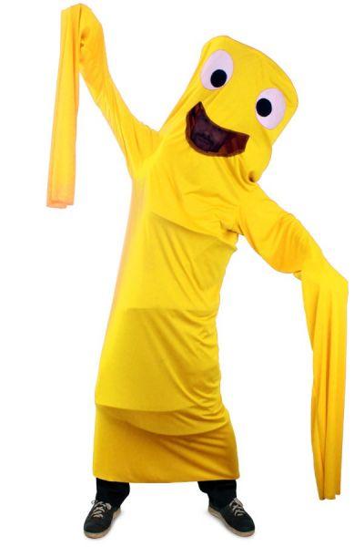 Grappig carnavalskostuum Wanky Tube geel kind
