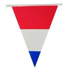 Vlaggenlijn Nederlandse vlag 120m feestversiering