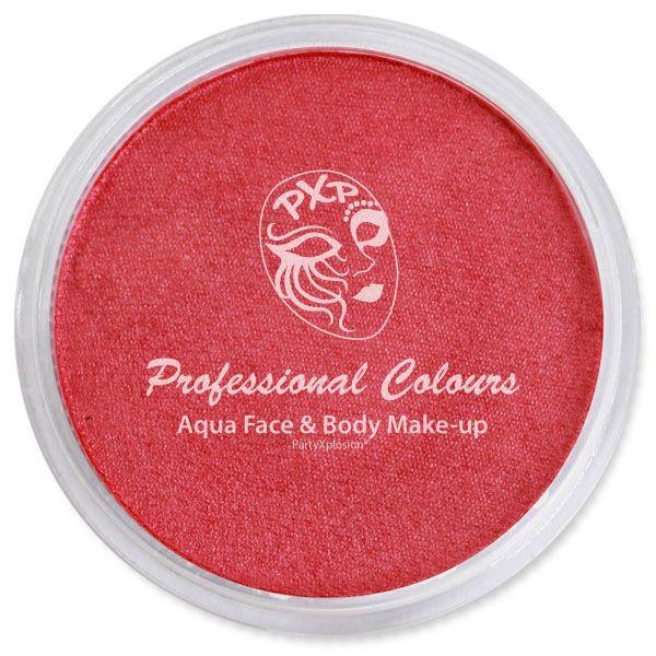 PartyXplosion Aqua schmink Pearl rood