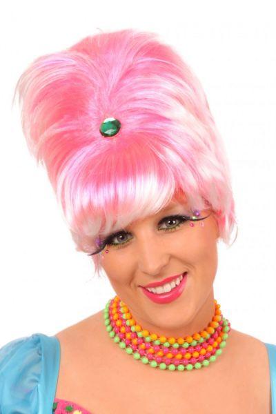Roze Pruik Tippy