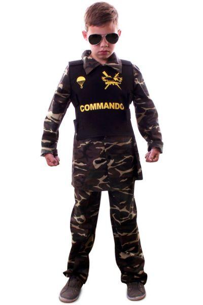 Commando camouflage outfit voor kinderen