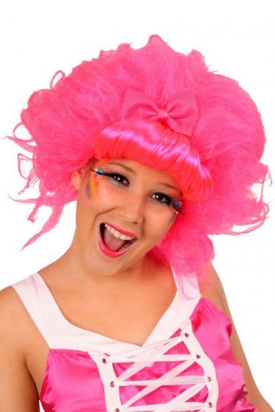 Damespruik Dip-dye Candy crush roze