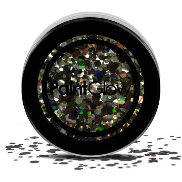 Chunky cosmetic glitters Black Enchantress