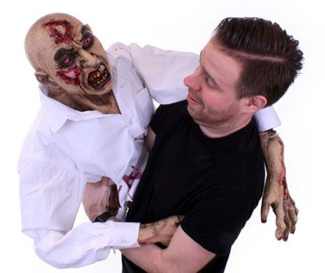 Halloween handpop Zombie
