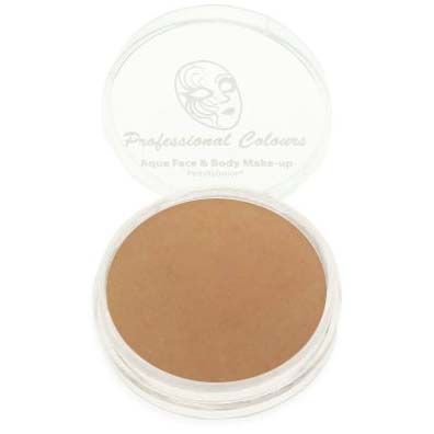 PartyXplosion Aqua face & body paint Mid Brown Professional Colours