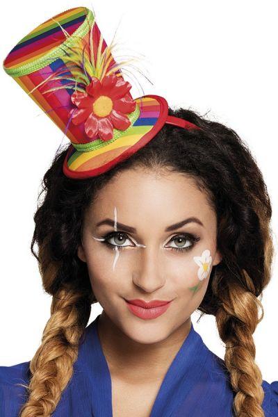 circus Regenbooghoedje op hoofdband
