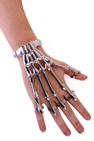 Armband skeletvingers