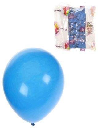 Helium ballonnen Blauw 100 stuks