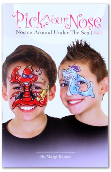 Face Paint book Pick your nose 3
