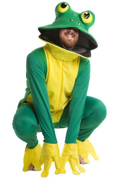 Dierenpak groene kikker kostuum