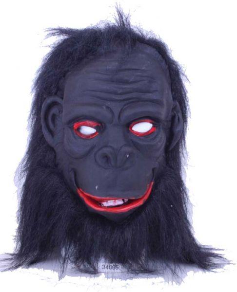 Gorilla masker pluche