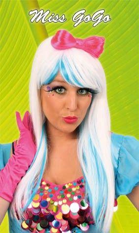 Pruik miss Gaga